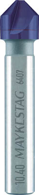 TRUSCO トラスコ中山 工業用品 ALPEN 超硬カウンターシンク 20.5mm ALUNITコーティング