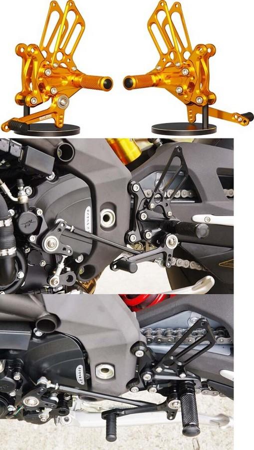 BABYFACE ベビーフェイス バックステップキット タイプ1 カラー:ブラック F4 TypeI RaceShift 10-14