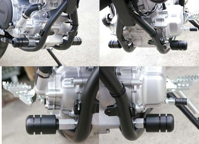 【ポイント5倍開催中!!】BABYFACE ベビーフェイス ガード・スライダー [IDEAL] エンジンスライダー WR250X