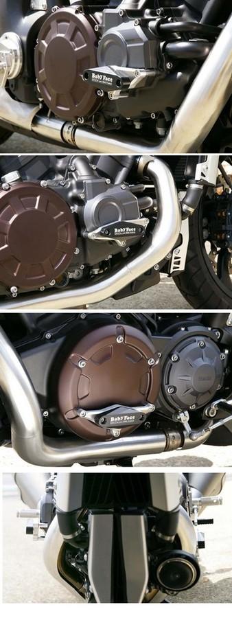 BABYFACE ベビーフェイス ガード・スライダー エンジンスライダー VMAX1700