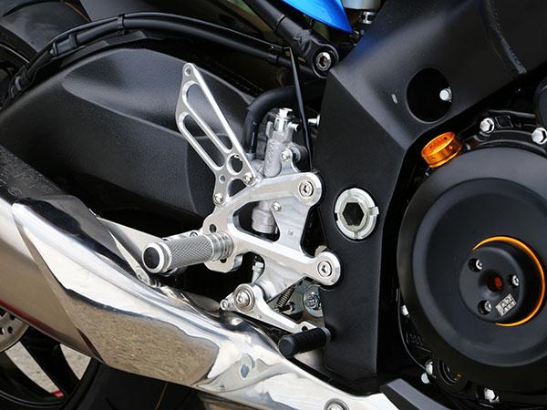 BABYFACE ベビーフェイス バックステップキット逆チェンジモデル カラー:ブラック GSX-S1000 RaceShift 15-