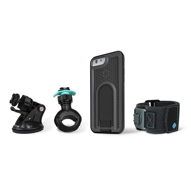 Intuitive Cube イントゥイティブキューブ 各種電子機器マウント・オプション Xガード バンドルB iPhone6/6s用 マルチパーパス コンビネーションパッケージ