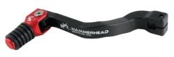 HammerHead ハマーヘッド ブレーキペダル・シフトペダル シフトペダル ラバーティップ オフセット:+5mm カラー:レッド CRF150R