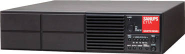 TRUSCO トラスコ中山 工業用品 SANUPS UPS本体(1KVA(700W)5分 AC200-240V)