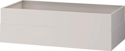 トラスコ中山 工業用品 TRUSCO U型壁面書庫 笠木 H150-280 W色