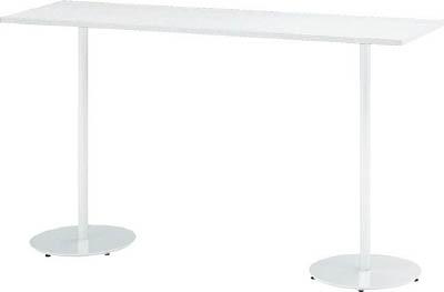 TRUSCO トラスコ中山 工業用品 イトーキ ハイテーブル(角型)1800X500X1000