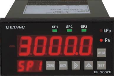 TRUSCO トラスコ中山 工業用品 ULVAC ピラニ真空計(デジタル仕様) GP-2001G/WP-02