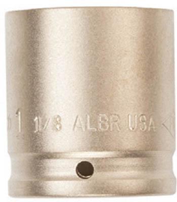TRUSCO トラスコ中山 工業用品 Ampco 防爆インパクトソケット 差込み12.7mm 対辺32mm