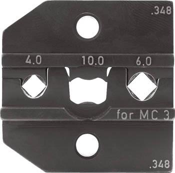 TRUSCO トラスコ中山 工業用品 RENNSTEIG 圧着ダイス 624-348 MC3 4.0-6.0