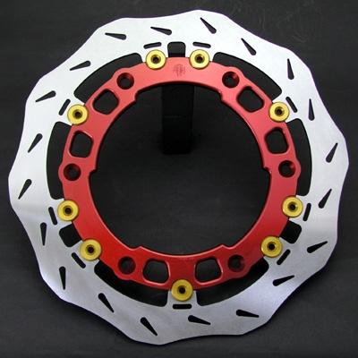 ALTH アルト ディスクローター フローティング ステラ フロント ブレーキディスク インナーフランジカラー:ブラック 左用 MULTISTRADA1000 MULTISTRADA1100