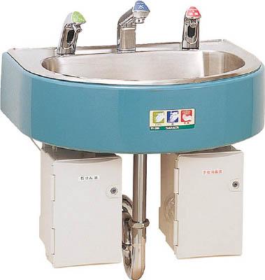 TRUSCO トラスコ中山 工業用品 サラヤ 自動手指洗浄消毒器 WS‐3000F