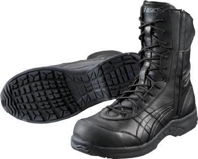TRUSCO トラスコ中山 工業用品 ウィンジョブ500 ブラックXブラック 22.5cm