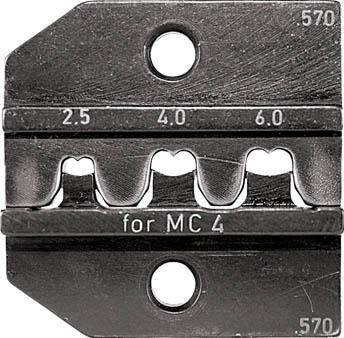 TRUSCO トラスコ中山 工業用品 RENNSTEIG 圧着ダイス 624-570 MC4 2.5-6.0