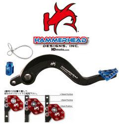 HammerHead ハマーヘッド ブレーキペダル ラージアルミティップ WR250 WR450F YZ250 YZ450F