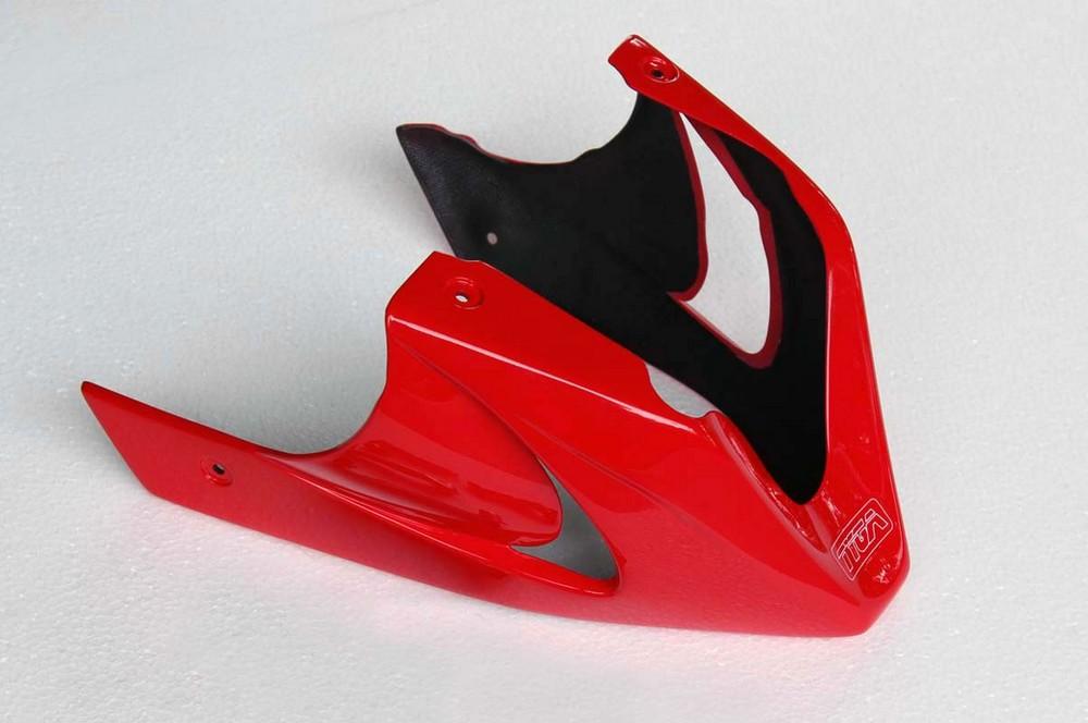 TYGA PERFORMANCE タイガパフォーマンス アンダーカウル (GRP) カラー:レッド MSX125 グロム