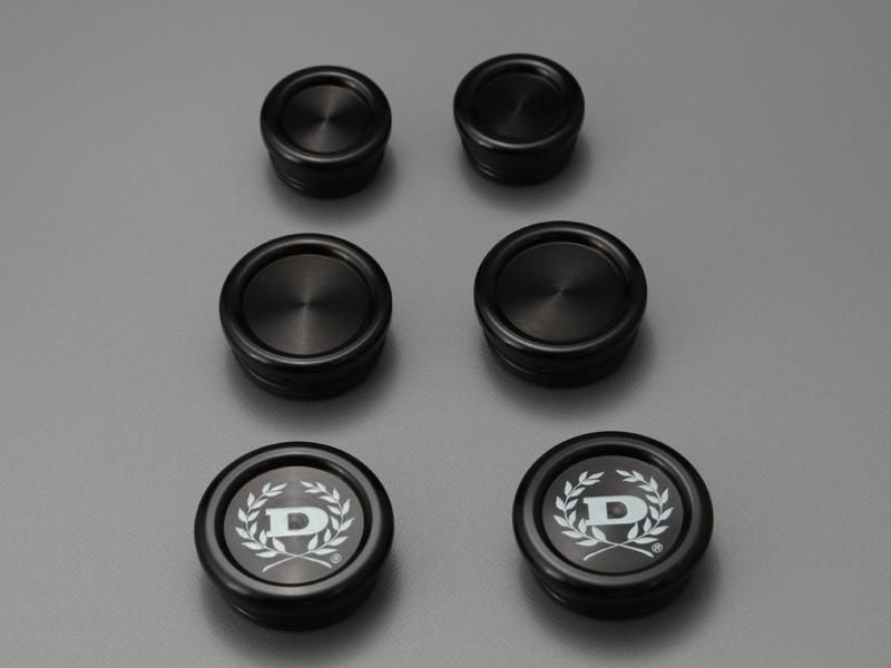 【在庫あり】DOREMI COLLECTION ドレミコレクション 汎用外装部品・ドレスアップパーツ フレームプラグ カラー:ブラック Z900RS