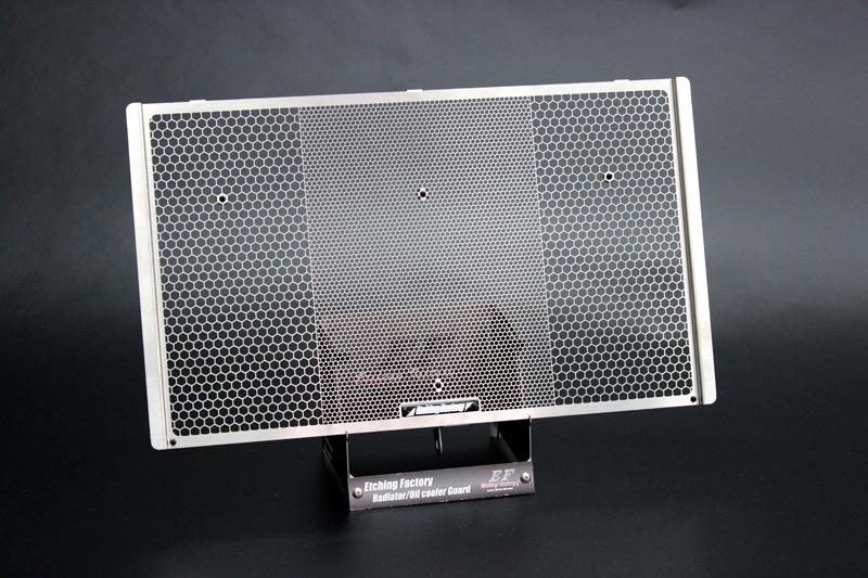 【在庫あり】ETCHING FACTORY エッチングファクトリー コアガード ラジエターガード Z900RS(2018年モデル-)