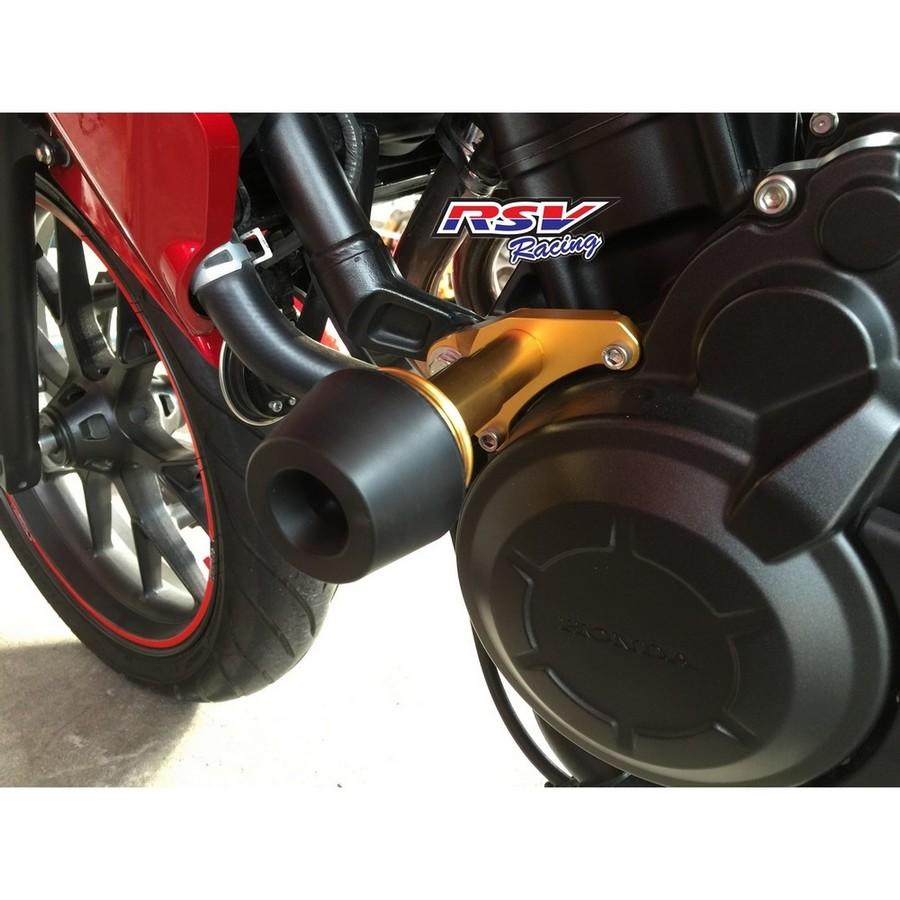 RSV racing アールエスブイレーシング ガード・スライダー フレームスライダー CB500用 カラー:orange CB500 all year