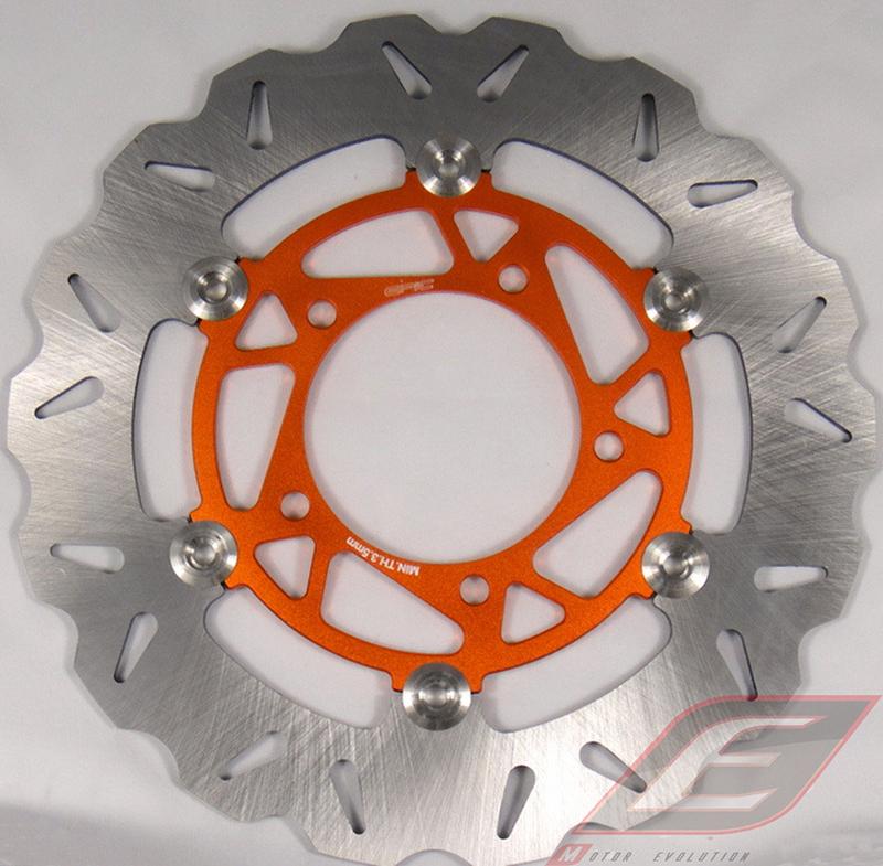 EPIC エピック 260mmウェーブディスクローター カラー:Orange BWS125 CYGNUS X