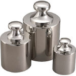TRUSCO トラスコ中山 工業用品 ViBRA 円筒分銅 5kg F1級