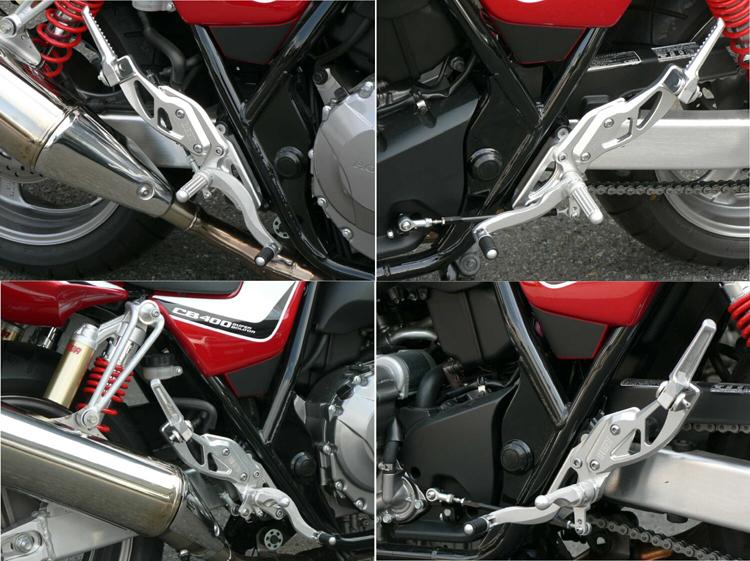 BEET ビート ハイパーバンク バックステップ カラーオーダー カラー:ブラウン CB400SF、CB400SB [スーパーボルドール] /Revo