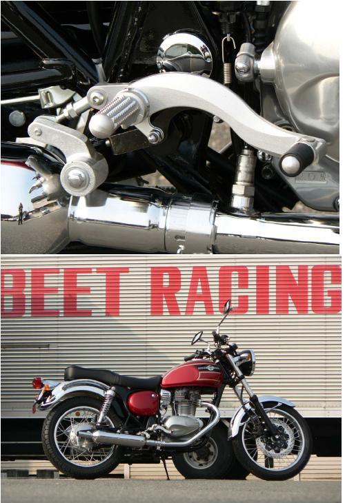 BEET ビート ハイパーバンク バックステップ カラーオーダー カラー:ブラック エストレヤ