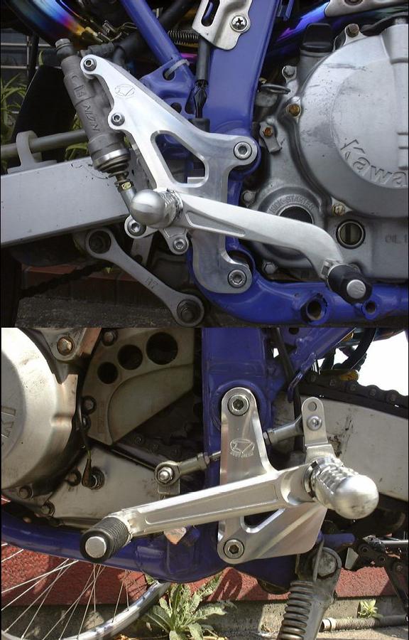 BEET ビート ハイパーバンク バックステップ カラーオーダー カラー:パープル 250SB