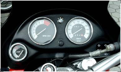 Hornig ホーニグ その他メーター関連 スピードメーターリング (Speedometer rings) F650GS/CS/ST/Dakar