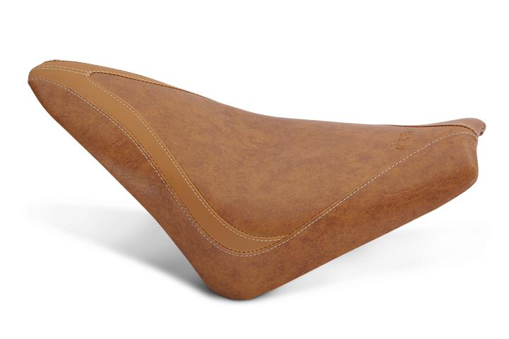 MUSTANG マスタング シート本体 RUN AROUND(TM) ソロシート  (RunAround(TM) Solo)【SEAT BRN RUNAROND SCOUT [0810-1840]】 カラー:Brown Vinyl