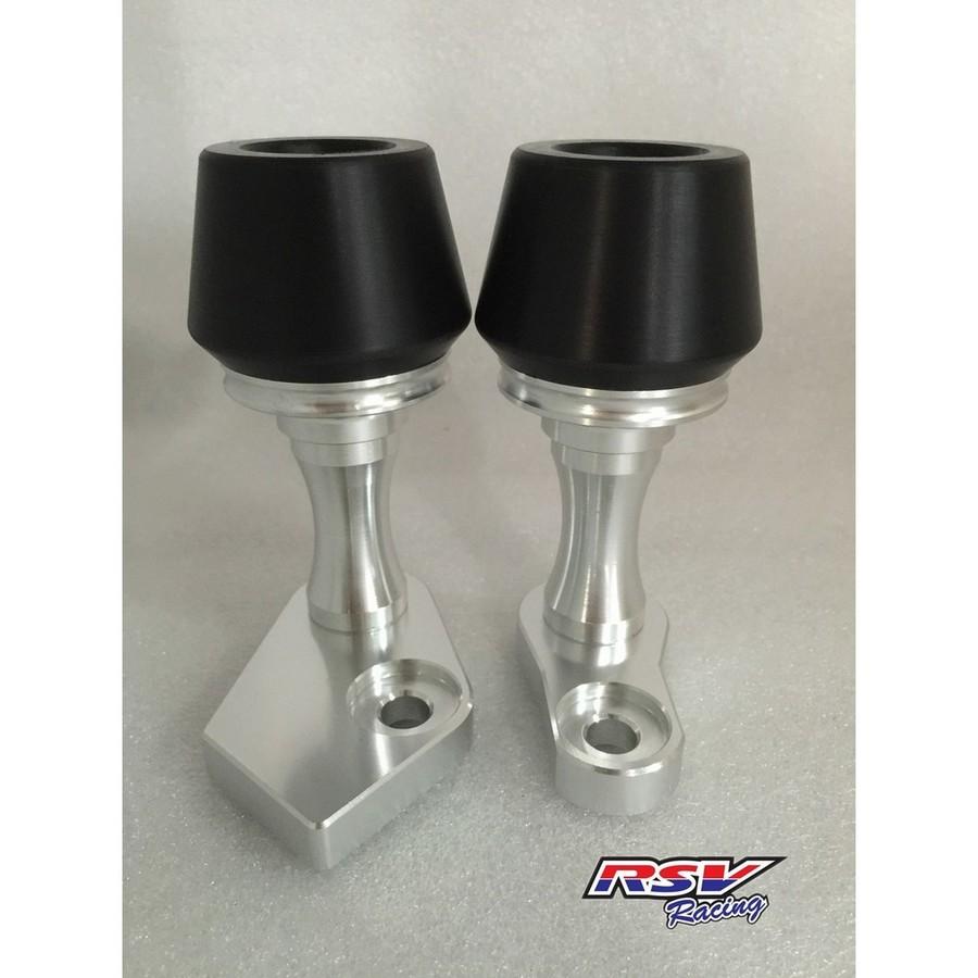 RSV racing アールエスブイレーシング ガード・スライダー フレームスライダー NINJA650-12用 カラー:black Ninja650-12 2012