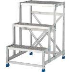 TRUSCO トラスコ中山 工業用品 アルインコ 作業台(天板縞板タイプ)2段