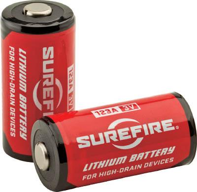 TRUSCO トラスコ中山 工業用品 SUREFIRE バッテリー400個(1ケース)