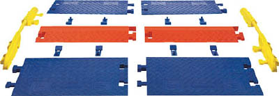 TRUSCO トラスコ中山 工業用品 CHECKERS レール ラインバッカーケーブルプロテクタ 重量型電線1本用