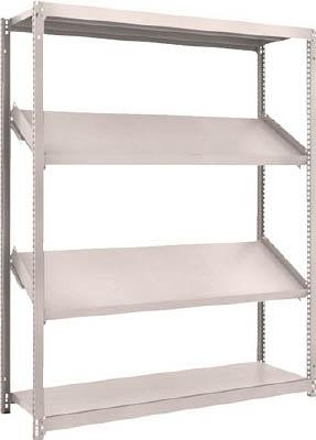 トラスコ中山 工業用品 TRUSCO M1.5型棚 1500X450XH1800 4段 傾斜2段