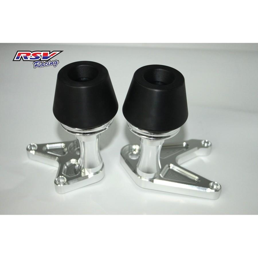 RSV racing アールエスブイレーシング ガード・スライダー フレームスライダー CB650/CBR650用 カラー:black CB650 CBR650