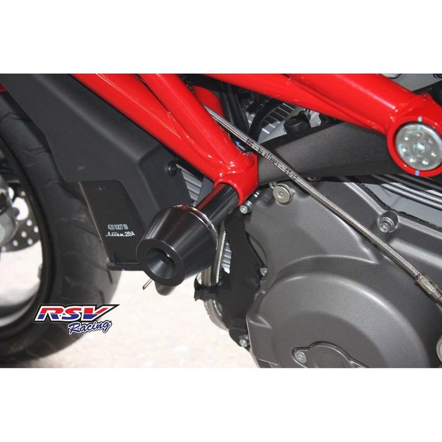 RSV racing アールエスブイレーシング ガード・スライダー フレームスライダー DUCATI795用 カラー:black 795 796