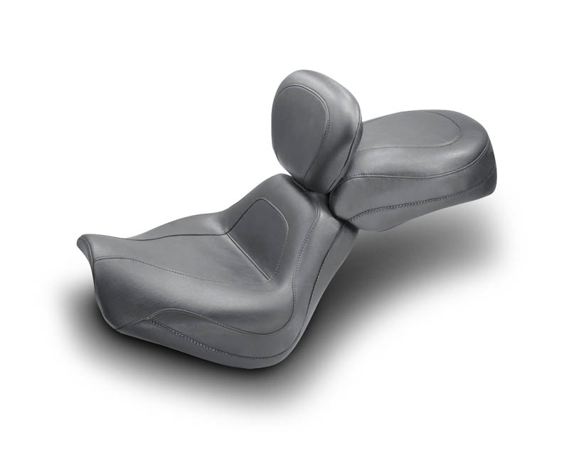 MUSTANG マスタング ヴィンテージソロシート ドライバーバックレスト付き (Vintage Solo Seat with Driver Backrest) Softail Deuce 00-07