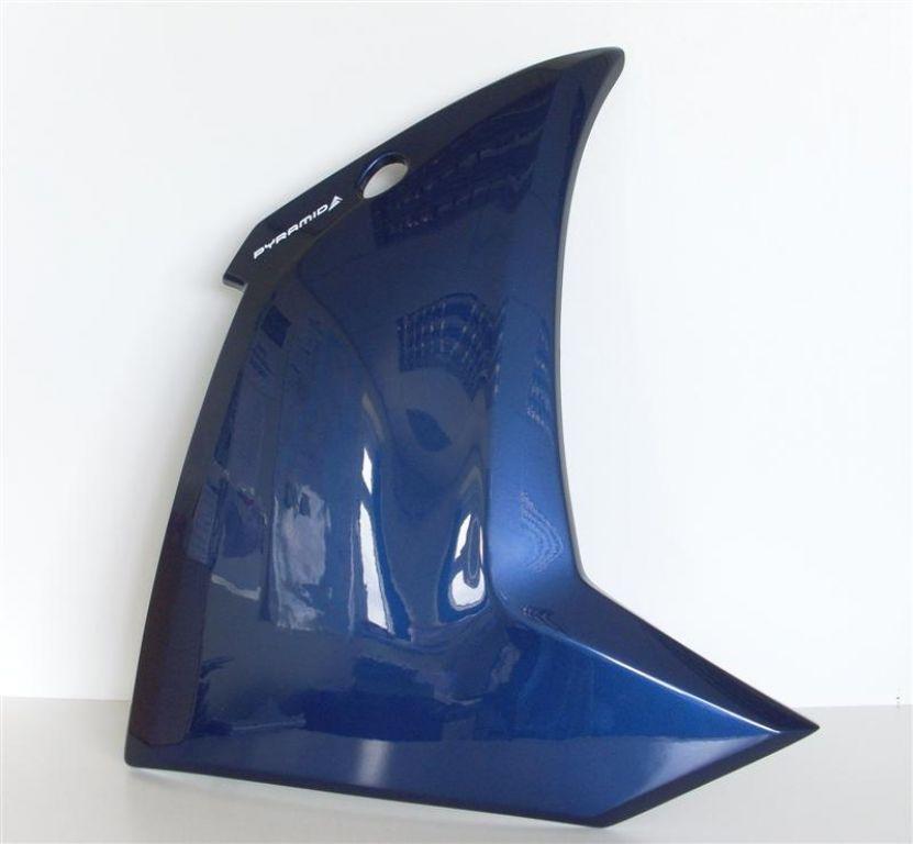 Pyramid Plastics ピラミッドプラスチック サイドカバー ロアー・フェアリング(Fairing Lowers) カラー:Competition White FZ1 2006-2013