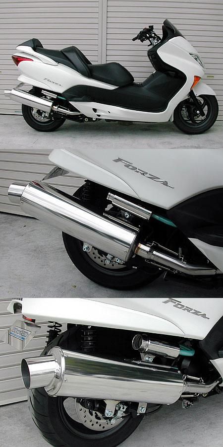 WirusWin ウイルズウィン フルエキゾーストマフラー マーベラスレーシングマフラー 重低音バージョン キャタライザー付 (排ガス浄化触媒) フォルツァ(MF08)