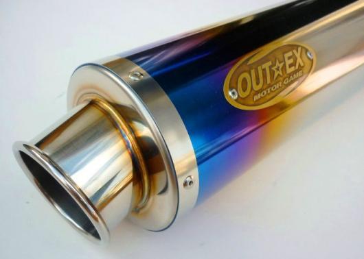 アウテックス OUTEX.R-STG-CATALYZE (S/O) スリップオンマフラー グランドマジェスティ400