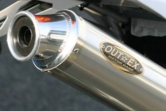 アウテックス OUTEX.R-STG (S/O) スリップオンマフラー DR-Z400S DR-Z400SM