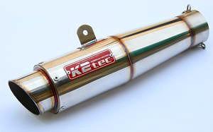 【送料無料】マフラー K2TEC ケイツーテック gptm-20-5h  K2TEC ケイツーテック バッフル・消音装置 GPスタイル テーパーサイレンサー M1 200・50.8 スプリングフックタイプ