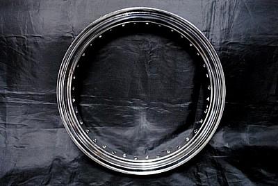 【クーポン配布中】部品屋K&W 16インチ鉄リムホイールキット グラストラッカー ビッグボーイ