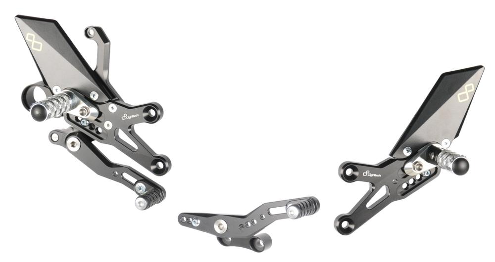 LighTech ライテック バックステップ ステップキット タイプ:Rバージョン CBR1000 RR/SP/ SP2 08-17