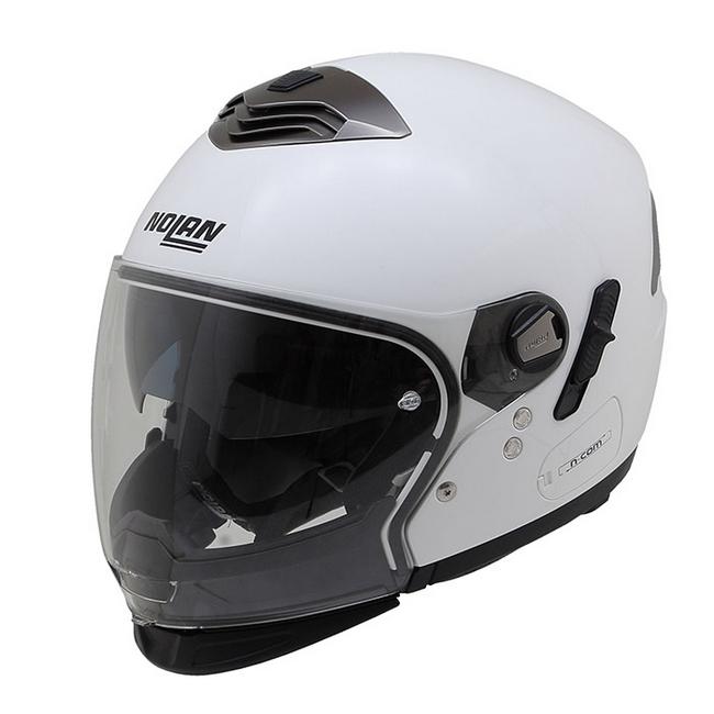 NOLAN ノーラン ジェットヘルメット N43E Trilogy ソリッド サイズ:M(57-58)