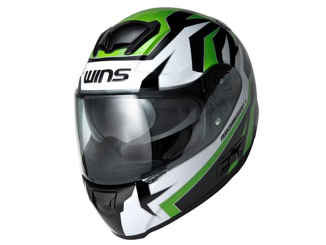 WINS ウインズ フルフェイスヘルメット FF-COMFORT TANATOS [エフエフ・コンフォート タナトス] グラフィック ヘルメット サイズ:L (58cm-59cm)