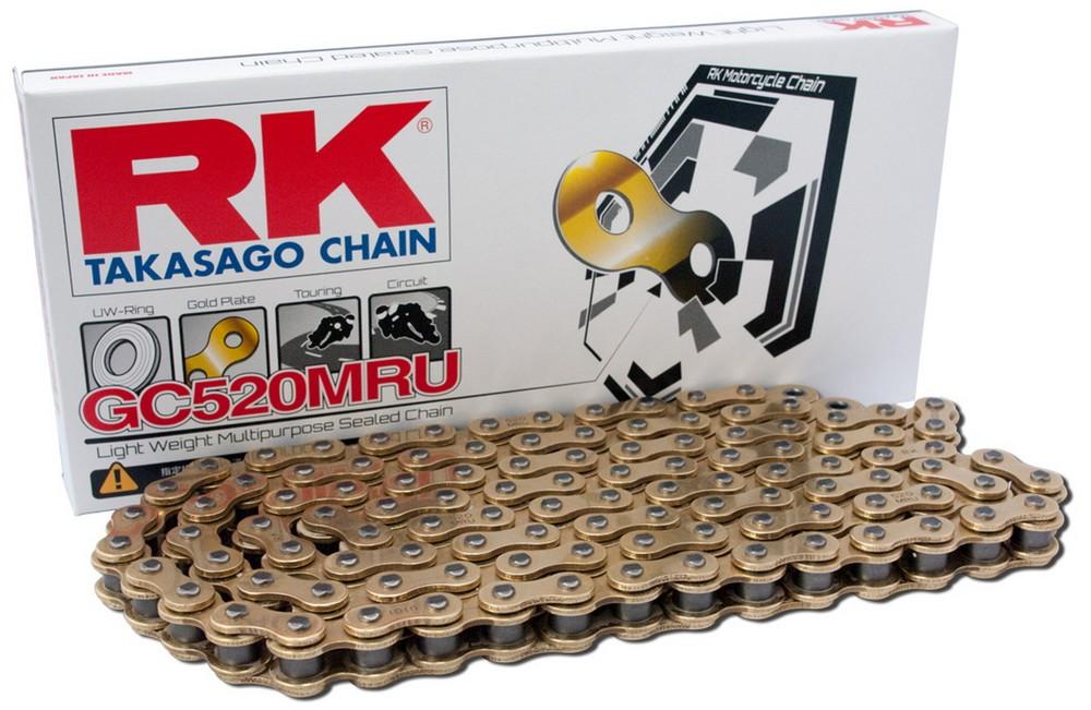 RK アールケー GCレーシングゴールドチェーンシリーズ GC520MRU
