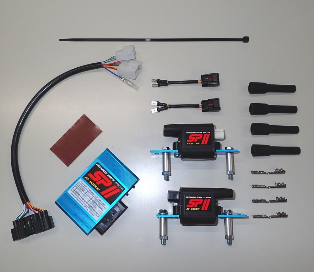 ASウオタニ AS UOTANI イグニッションコイル・ポイント・イグナイター関連 SPIIフルパワーキット GSX750S カタナ