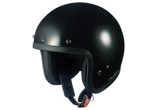 【在庫あり】OGK KABUTO オージーケーカブト ジェットヘルメット RADIC NX [ラディックNX ブラックメタリック] ヘルメット
