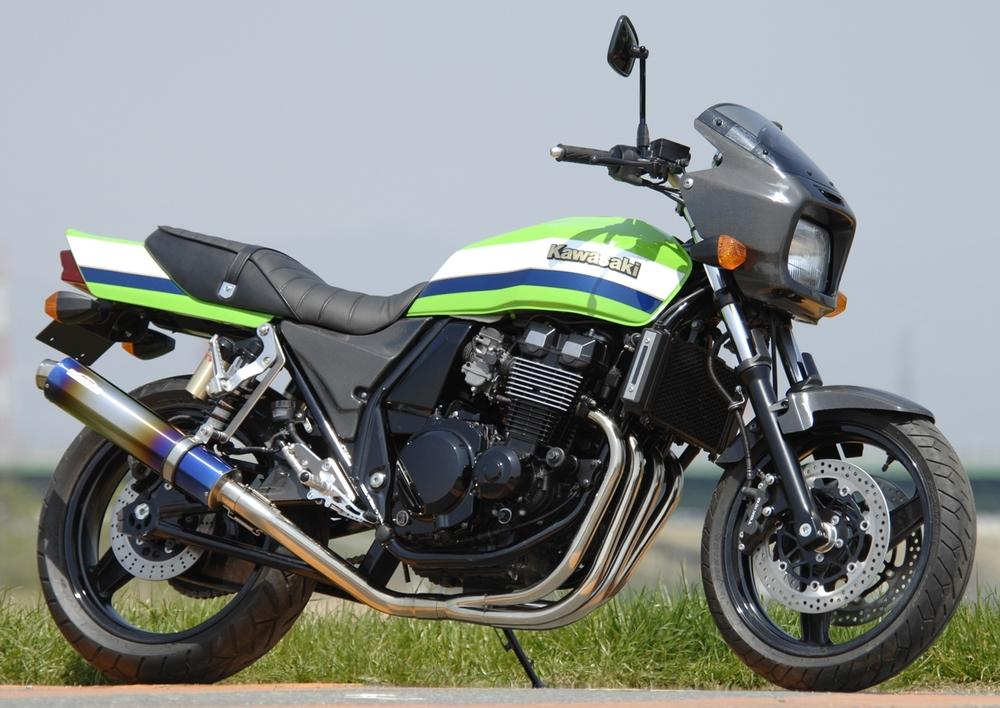 SANSEI RACING サンセイレーシング ZNIC [ジニック] フルエキゾーストマフラー ZRX400/II 01-08 [BC-ZR400E]
